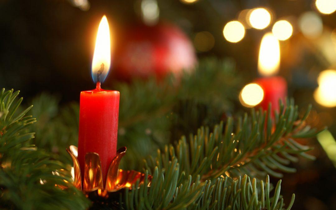 Sicherheit rund um den Weihnachtsbaum